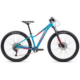 Orbea MX ENT XS XC Børn, blue bondi/bright red